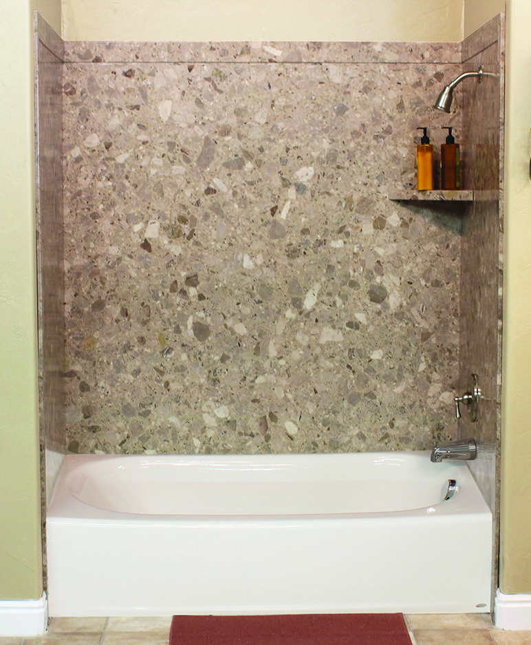 Surround yourself with the luxurious look of natural stone with ...