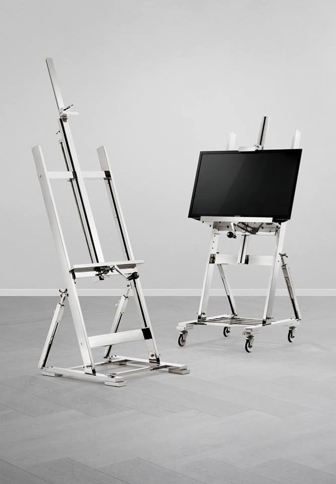 EICHHOLTZ TV easel für Flatscreen bei Villatmode Cabinets - ausgefallene mobel lcd tv stander mario bellini