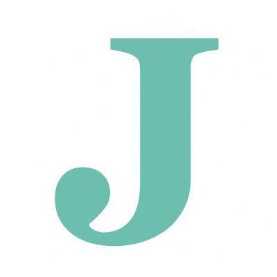 free letter j | Avalisa Letter - Upper Case 'J' Stretched ...