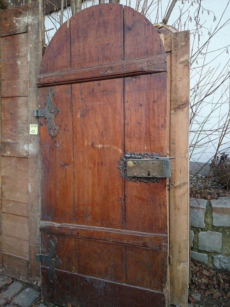Haustüren alter stil  antik Tür metallbeschlagen Haustüre Türe alte Haustür mit ...