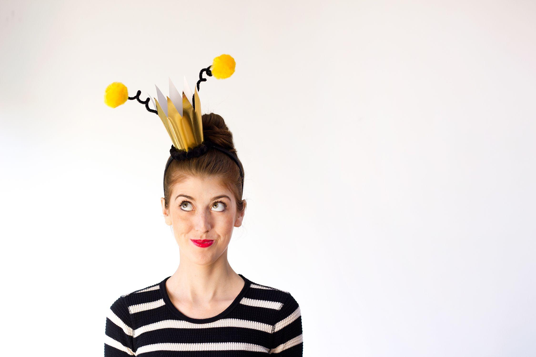 Last Minute DIY Queen Bee Halloween Costume | Queen bees, Halloween ...