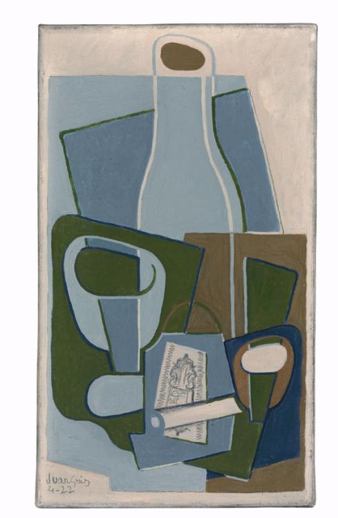 Juan Gris (Spanish, 18871927), Pipe et paquet de tabac