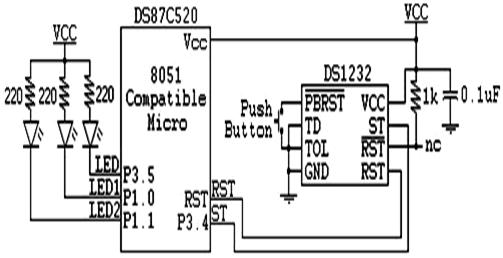 ds1232  u2013 pin description  features  u0026 applications