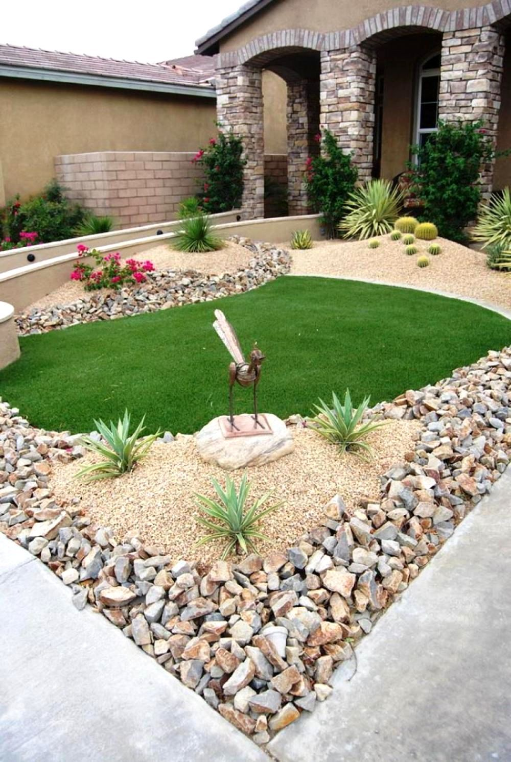 Low Maintenance Gravel Garden Designs Front Yard Garden Design Front Yard Landscaping Design Small Front Yard Landscaping