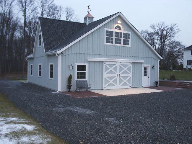36x36 Grey Barn