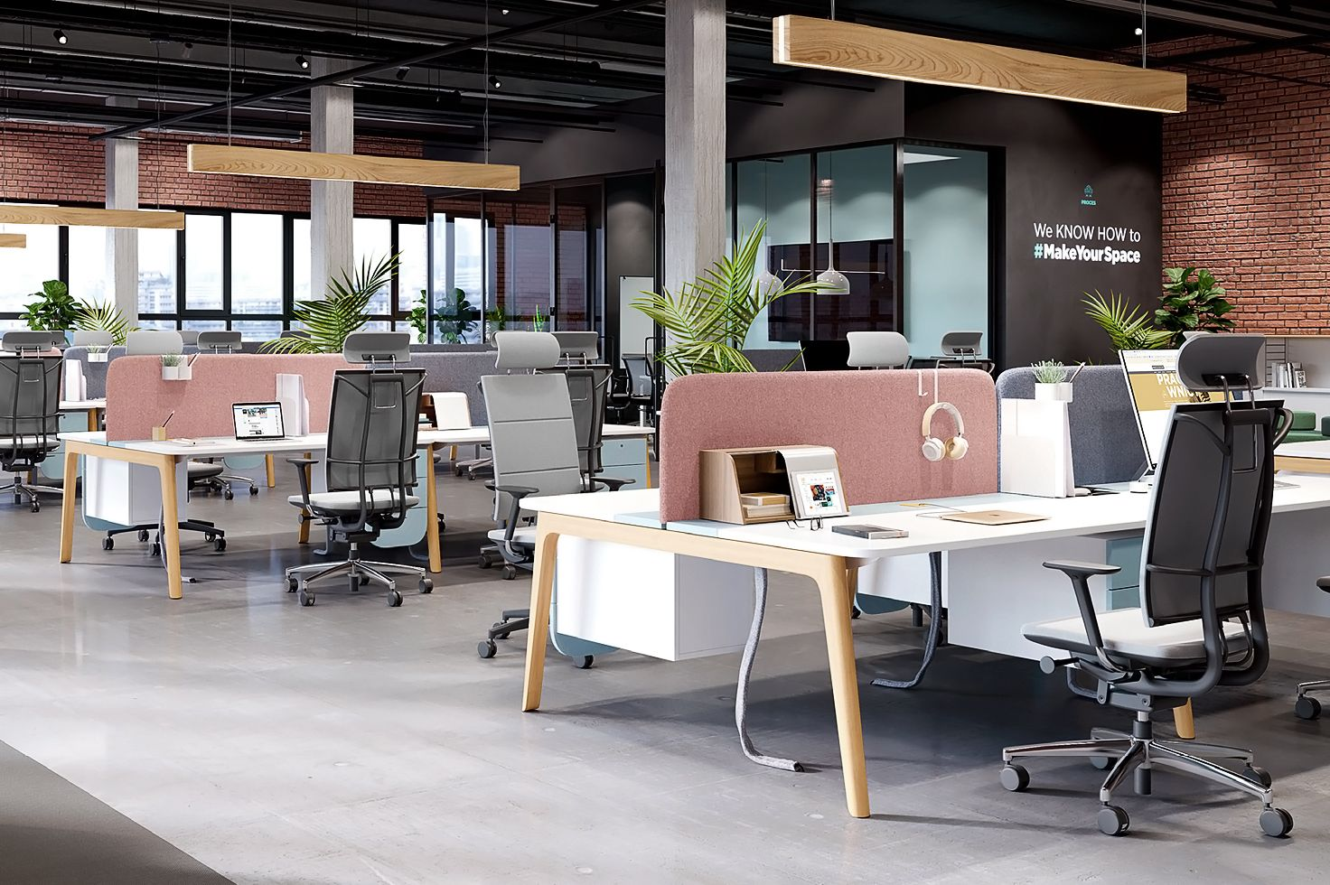 Levitate Office Furniture For Nowy Styl Group By Werteloberfell