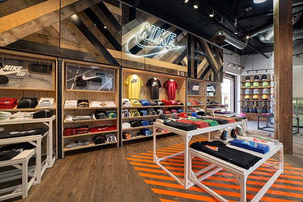 NIKE RETAIL - SALVATION CONCEPT STORE DESIGN