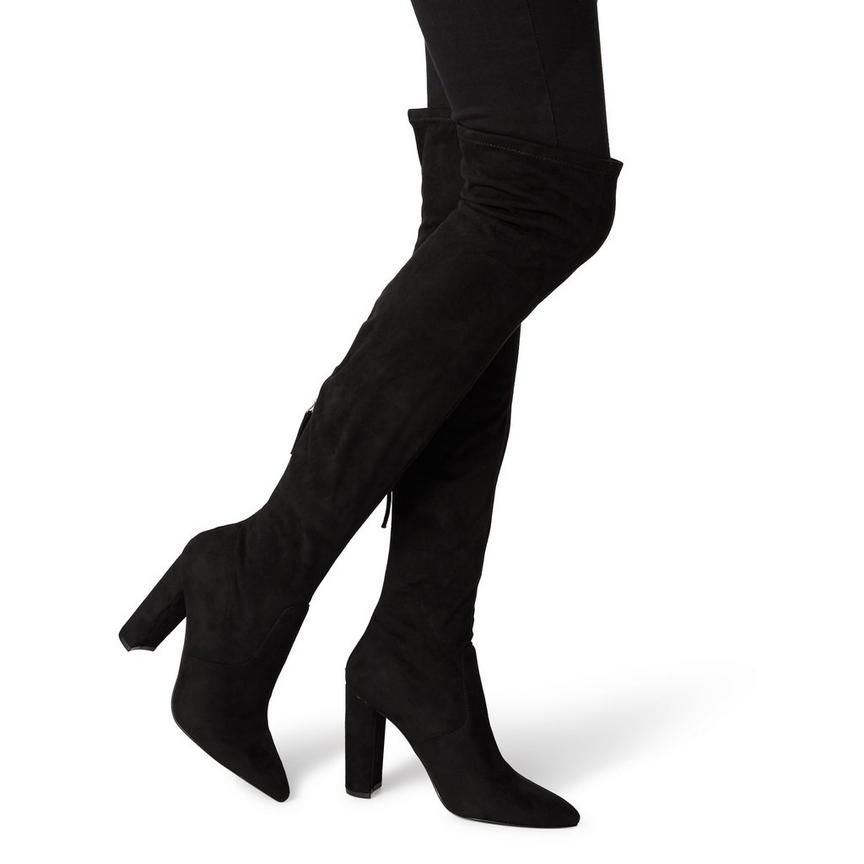 df5f8bf6719 VENT SM - Block Heel Knee High Boot - black | Shoes | Boots, Heels ...