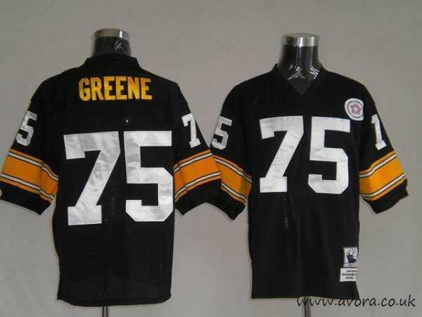 Personalized Mitchell And Ness Steelers #70 Ernie Stautner Black ...