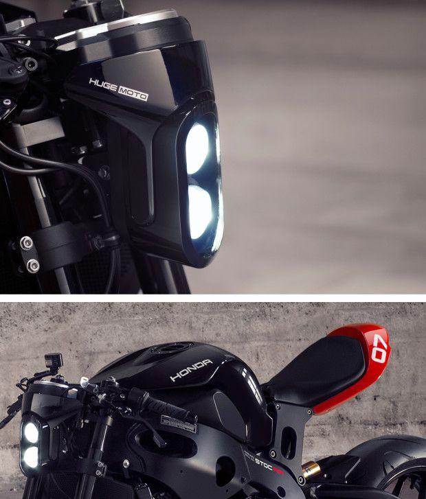 Gazetka Transportation Design 2015 Honda CBR1000RR Black Kit By Huge MOTO Custom MotorcyclesCustom BikesHonda