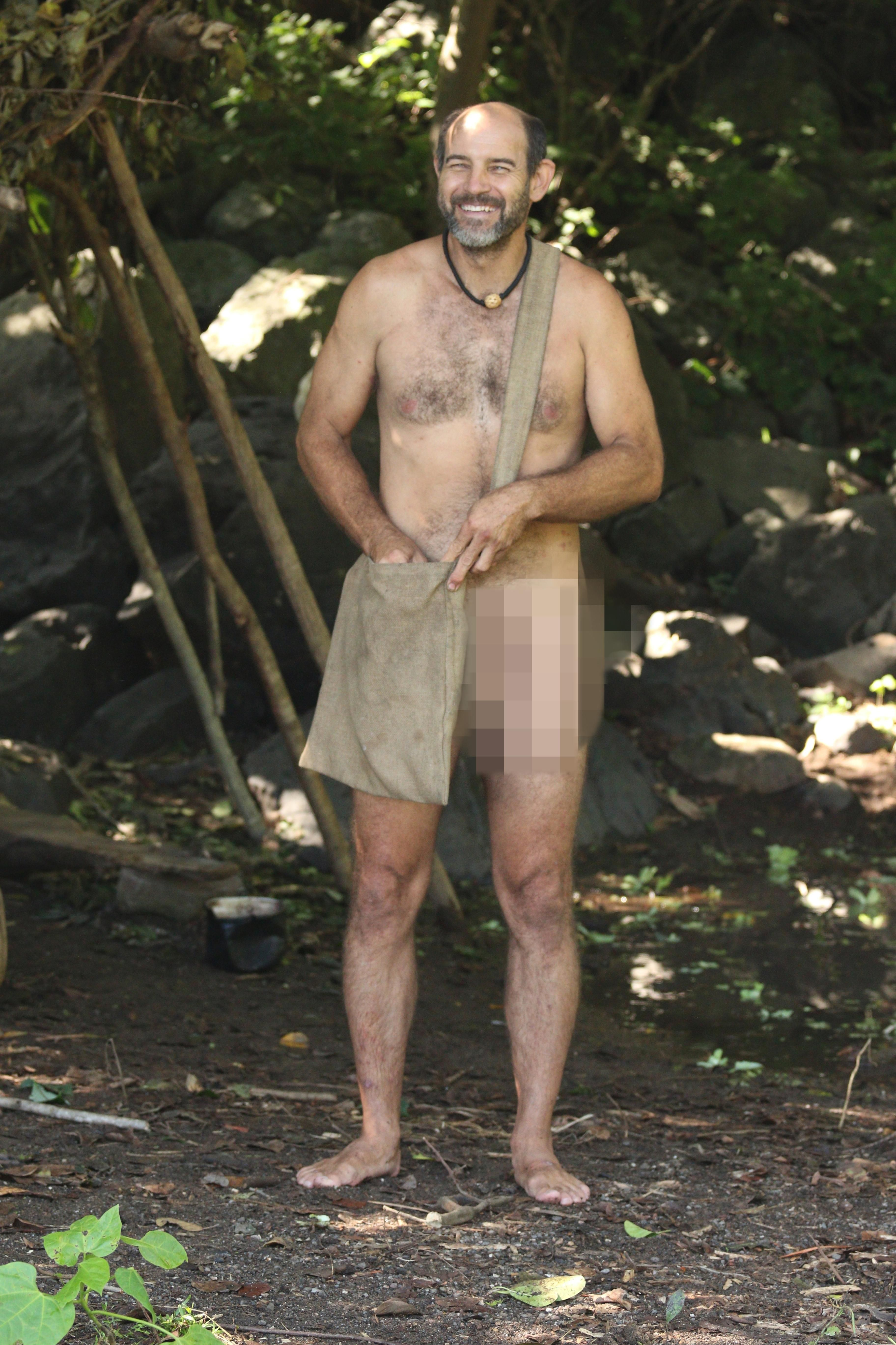 James Lewis Naked  Afraid Wilderness Silver Hunk  Hunks -4301