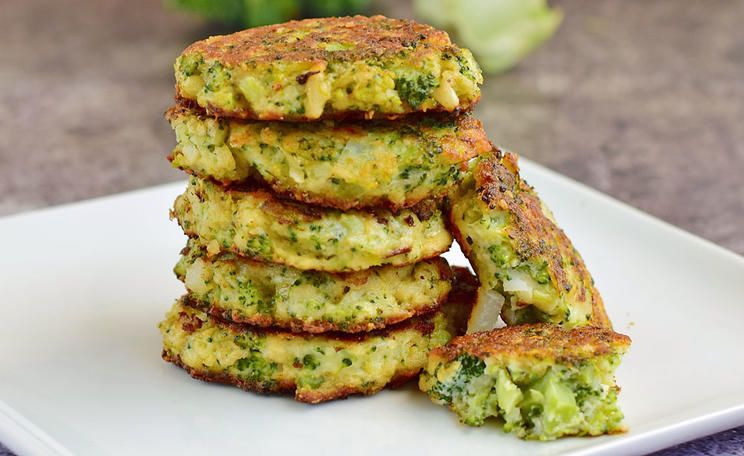 Vegetarische Brokkoli-Frikadellen