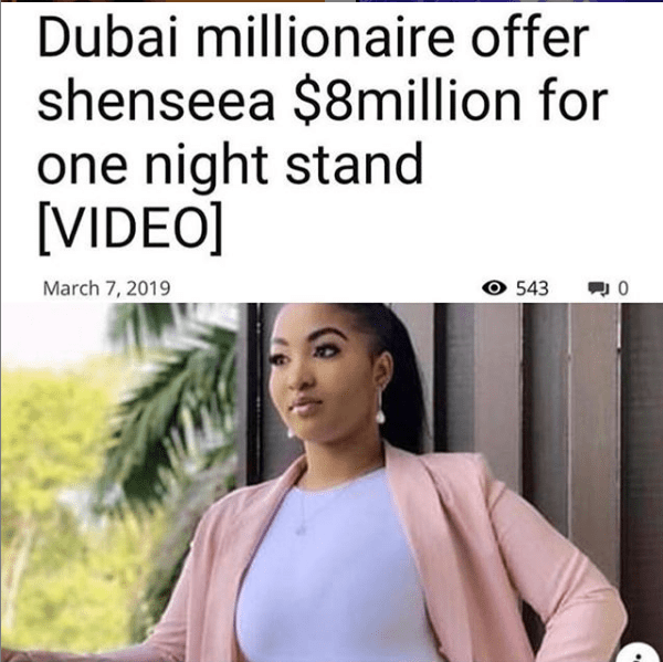 Shenseea Responds To Rumor Dubai Billionaire Offered Her