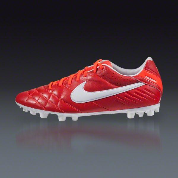 bd0d940d9a7 Nike Tiempo Mystic IV AG - Sunburst White Total Crimson Turf Soccer Shoes