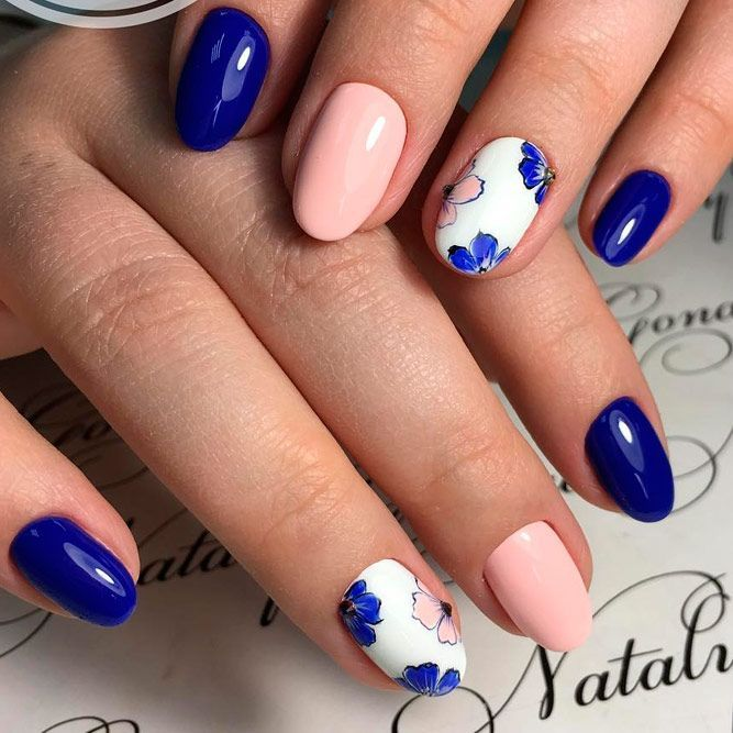 33 Lovely Nail Designs for Summer 2018 | Summer, Beauty nails and ...