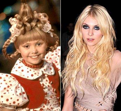 The Grinch Who Stole Christmas Cast.Holiday Movie Stars Then Now Two Sided Of Faces Of