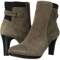 Womens Boots Anne Klein Stoke Taupe Suede