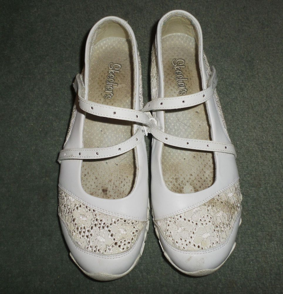 White skechers, Shoes, Skechers