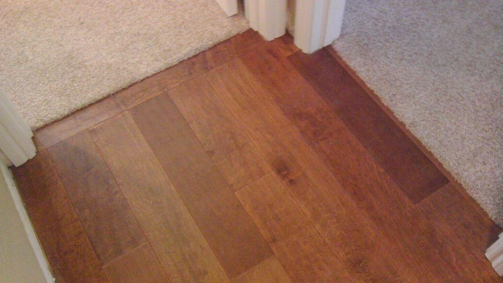 Carpet To Tile Transition, Hardwood Flooring Threshold Transition