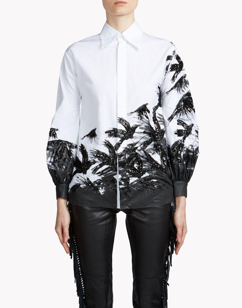 Ravens Embroidery Shirt - LANGARMHEMD Für Sie - Dsquared2 ...