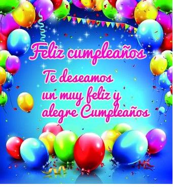 Happy Birthday Spanish Happybirthdaysong Happybirthdaywishes Happybirthdaytoyou Spanish Birthday Wishes Happy Birthday Wishes Spanish Happy Birthday Friend