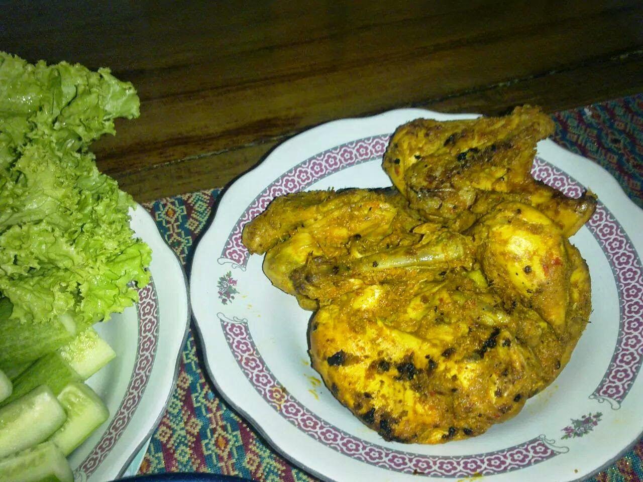 Djowo Klaten Ayam Pejantan Bakar Bumbu Padang Resep Ayam Resep Ayam