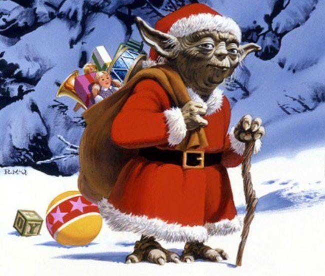 26 cartes de vœux Star Wars pour fêter Noël   Star wars, Cartes