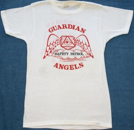 27054a6ae Vintage 1980s Guardian Angels Safety Patrol T-Shirt | Clothes ...