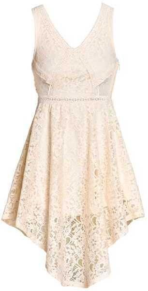 H&M Lace Dress | Necklines for dresses, Lace white dress ...