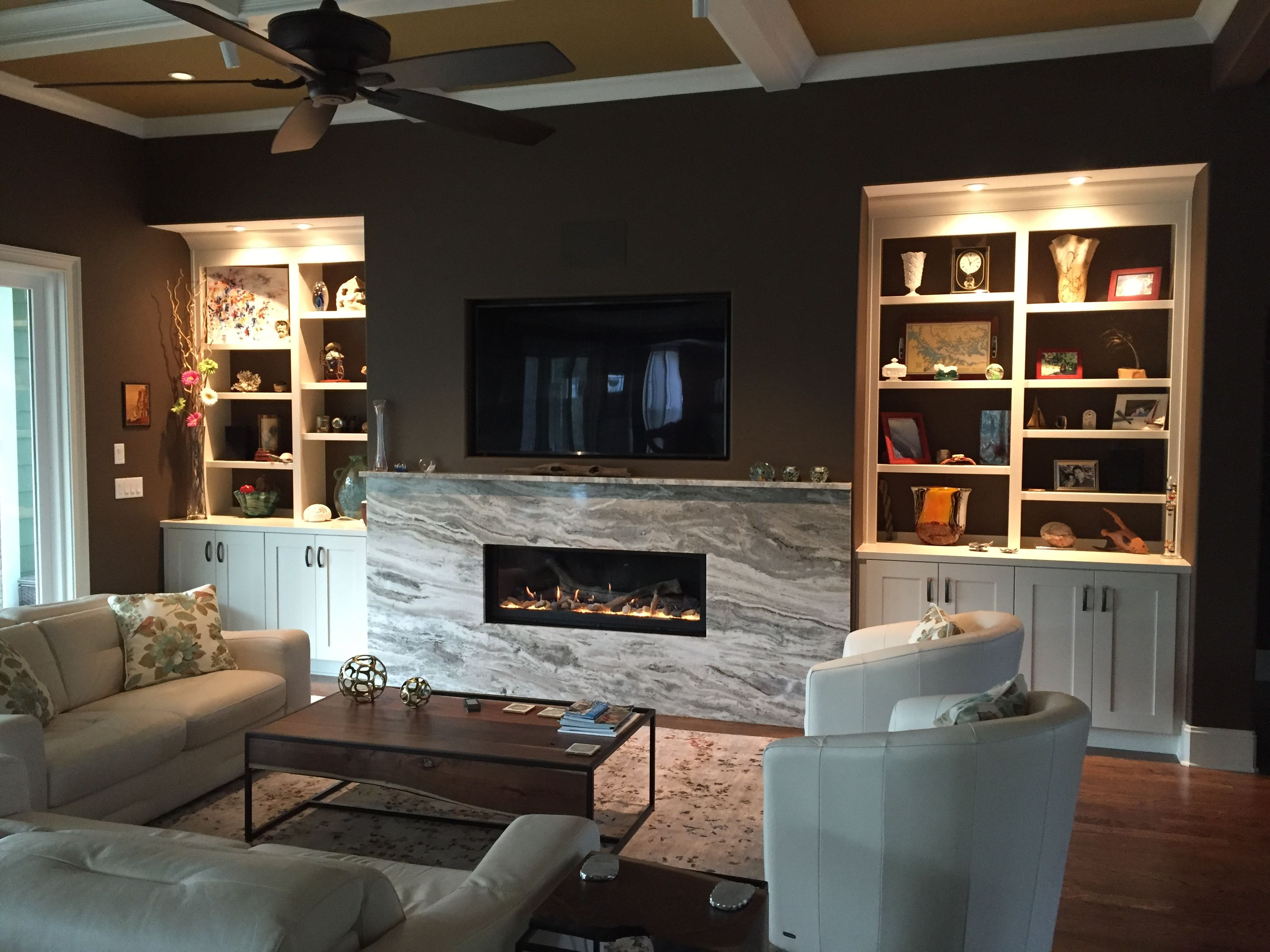 granite fireplace design ideas surround