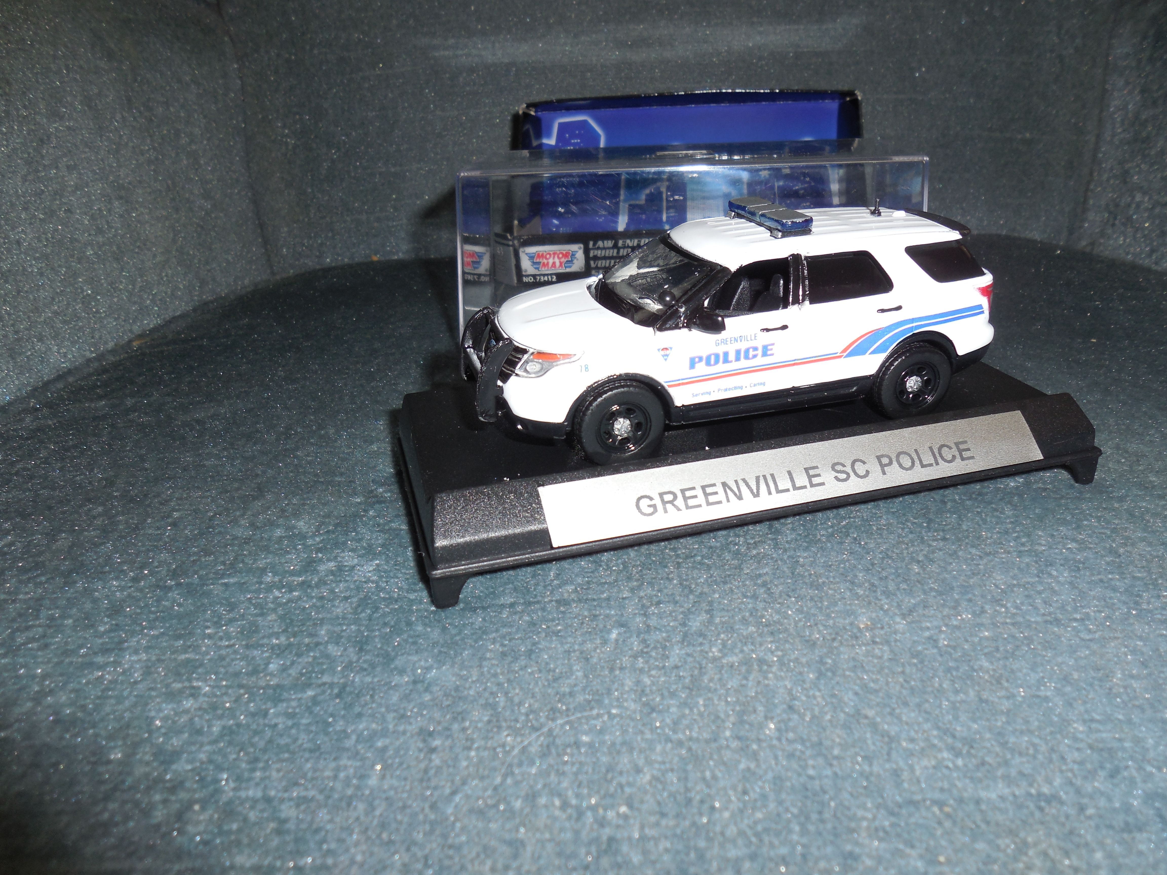 1 43 Scale Greenville Sc Police 2015 Ford Explorer Toy Car