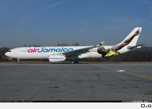 Air Jamaica Has Place Usain Bolt On One Of Their Planes, A Tru ...