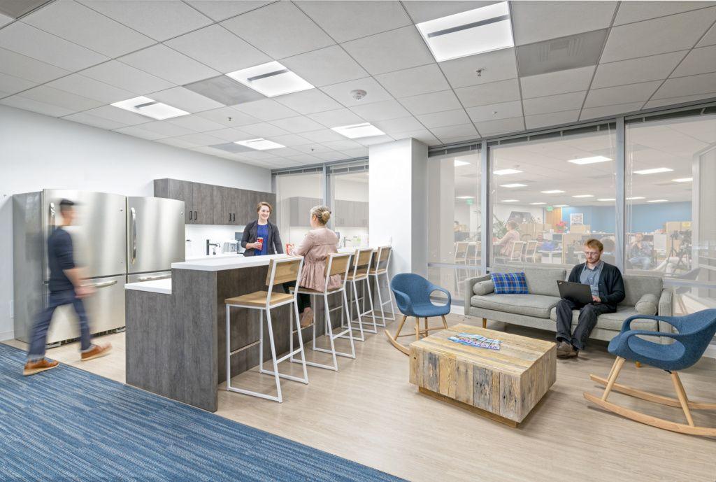 AAA Walnut Creek Modern office design, Modular lounges