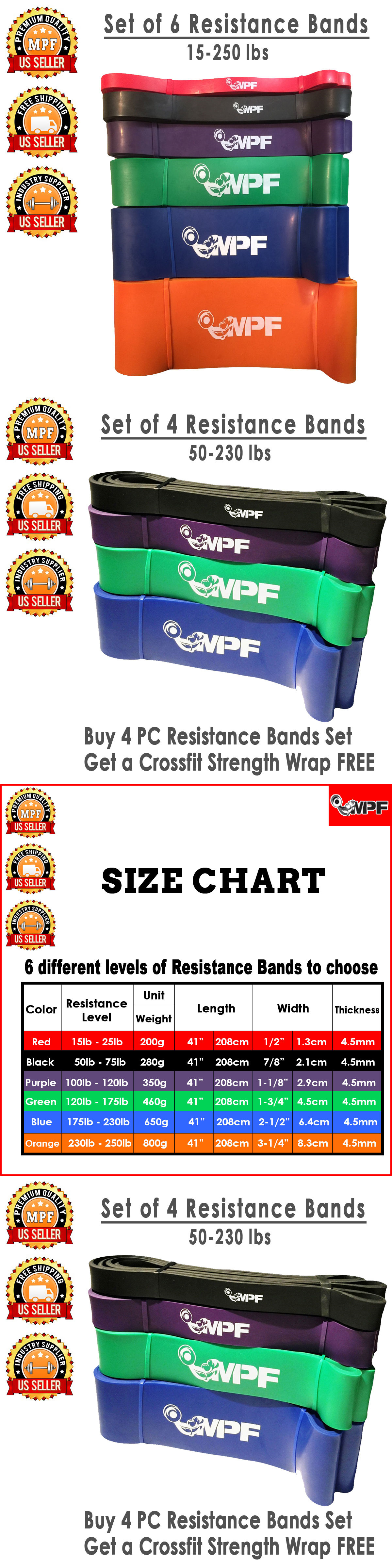 Resistance Trainers 79759: Resistance Bands Loop Crossfit Yoga Pull Up Fitness Exercise Strength Training BUY IT NOW ONLY: $76.5