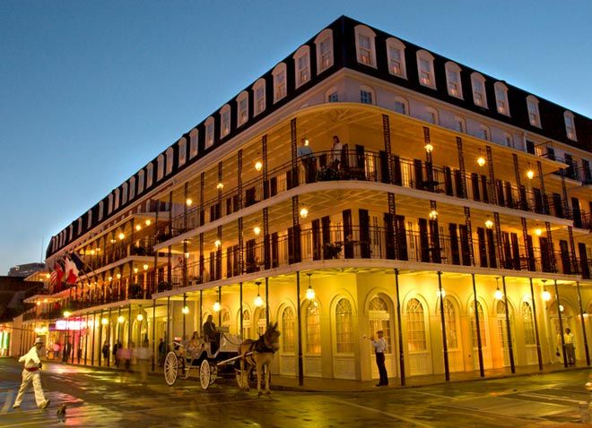 This Hotel Four Points By Sheraton French Quarter The Former Inn On Bourbon Street In New Orleans Offers Great Balconies