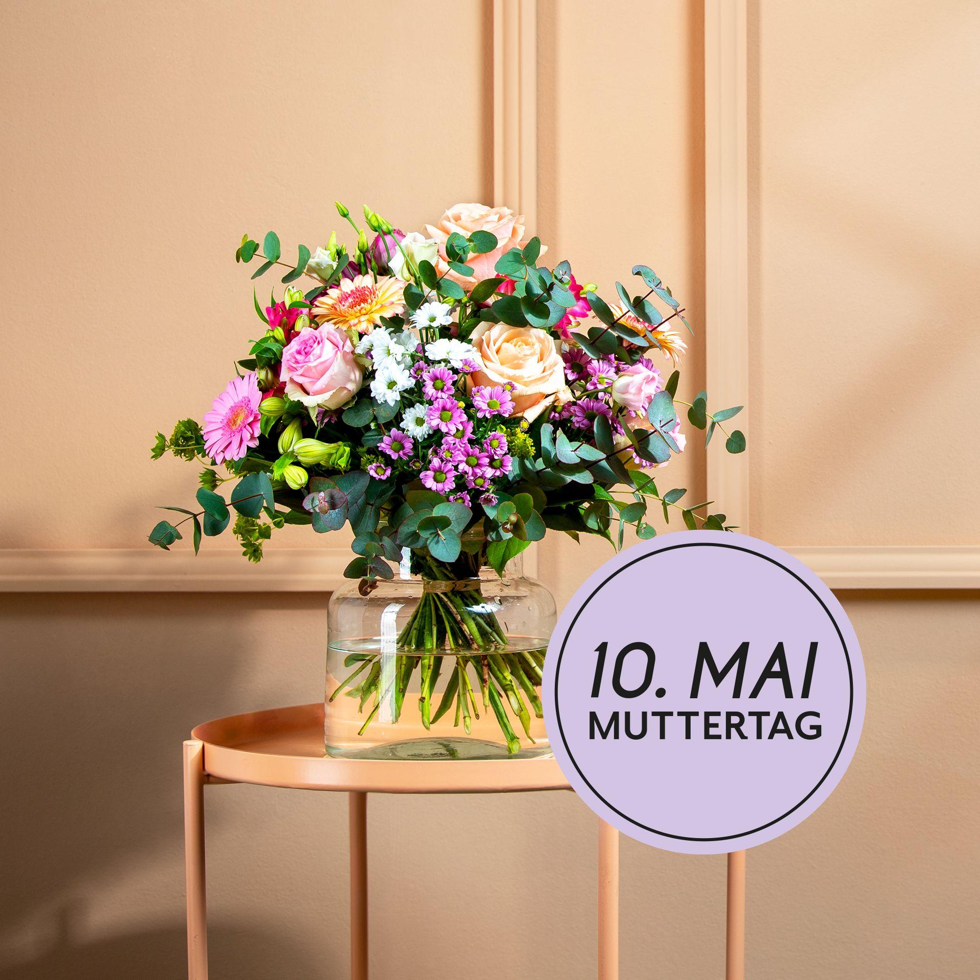 Kontaktlose Lieferung Von Blumen Zum Muttertag Muttertag Blumenstrauss Muttertag Mutter