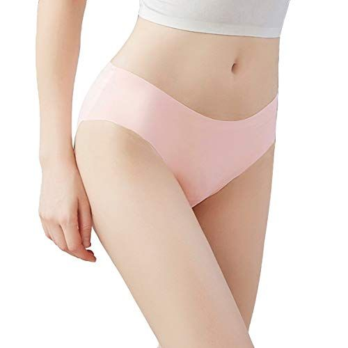 2cf84618391e Buankoxy 6 Pack Women's Invisible Seamless Panties Low-Rise No Show Laser  Cut Full Back Coverage Brief Underwear,#Invisible, #Seamless, #Panties, # Buankoxy