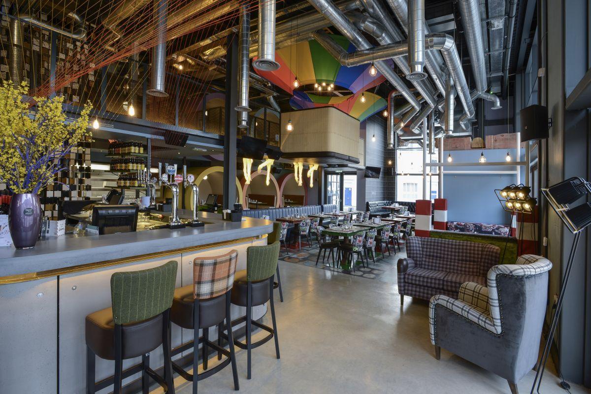 steak of art barconcrete lcda - retailand restaurant design