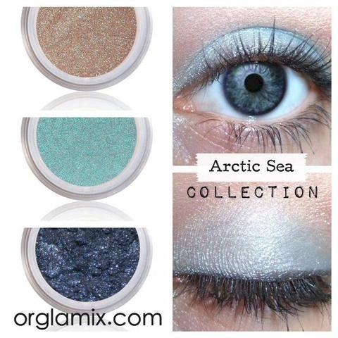 Arctic Sea Collection - Organic Makeup | Vegan + Cruelty Free Cosmetics | ORGLAMIX