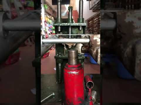 YouTube minhas invenções Pinterest - fabrication presse hydraulique maison