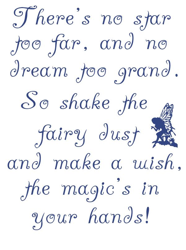 Words and poems about the magic of fairies/// font love ...