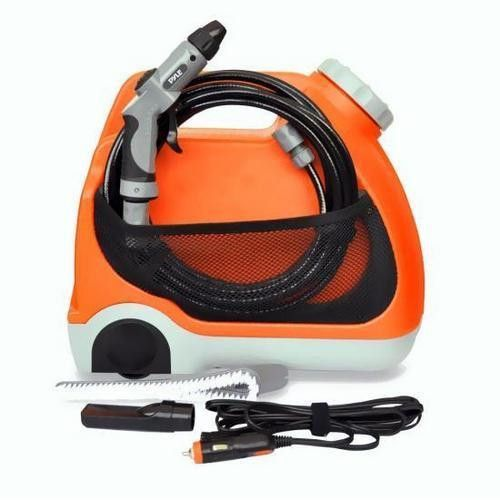 Pure Clean Portable Spray Pressure Washer For Travel Outdoor Cleaning System 12v Car Plug For Camping Boating Car Was With Images Washer Cleaner Pressure Washer Car Washer