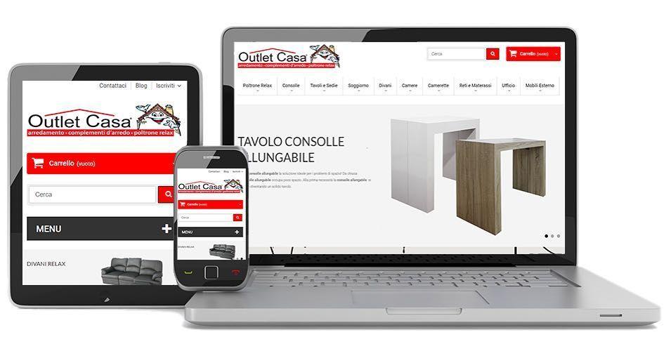 Ultima realizzazione: www.outletcasa.it / Outlet Arredamento online ...