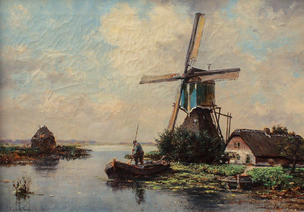 windmill 18th century paintings dutch - Google Search ...