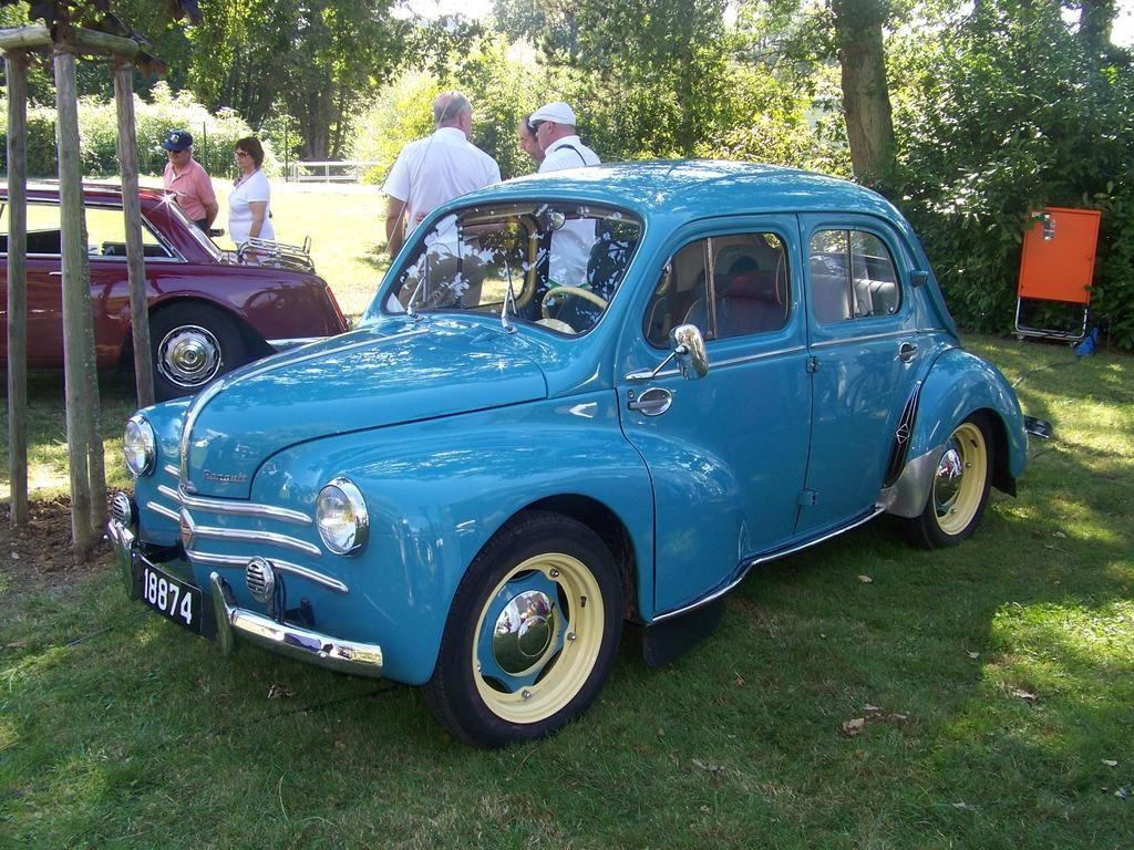 Renault 4 Cv French Car Groupe Automobile