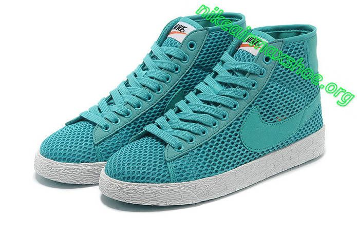 best wholesaler footwear huge selection of Nike Blazer Mid Mesh Womens Turquoise Sail 579956 300 | Nike ...