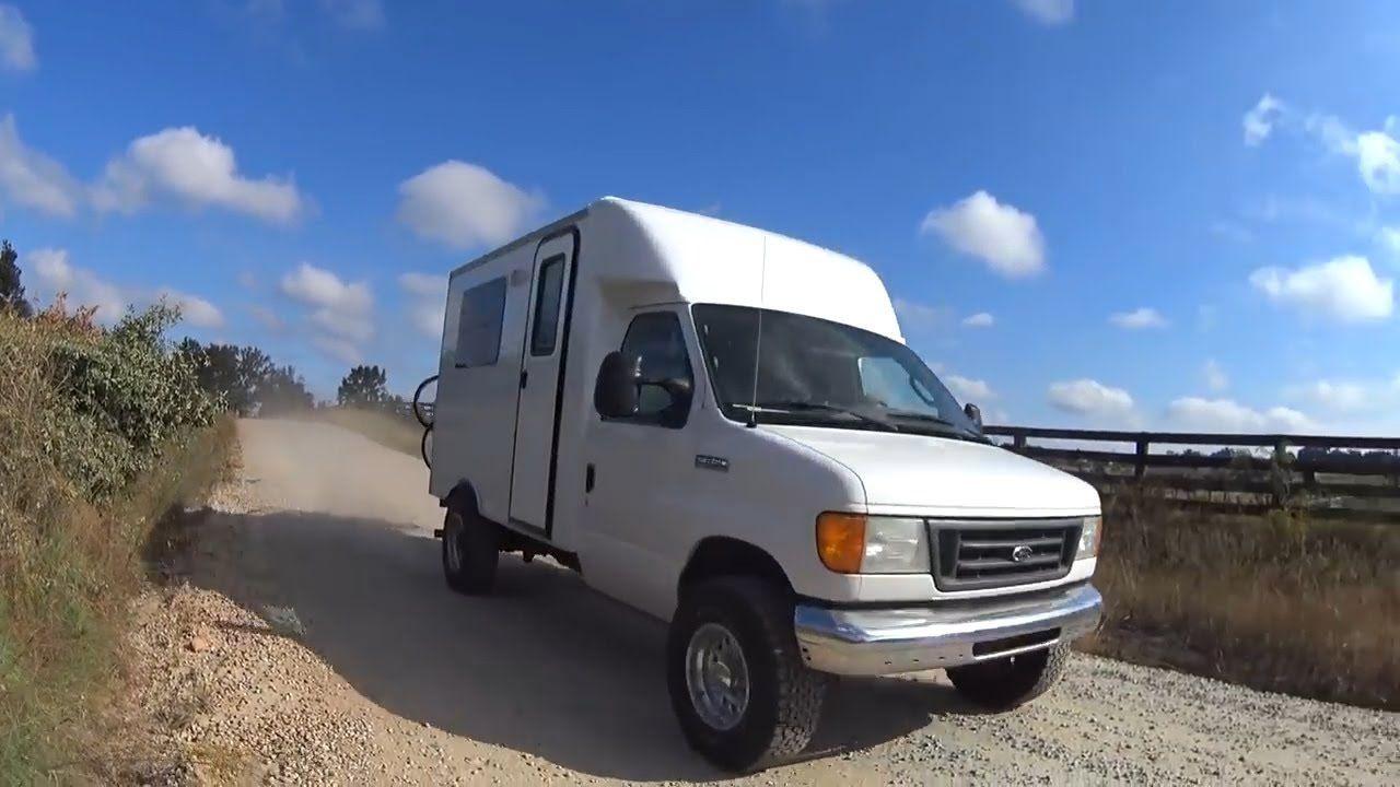 Junkyard To Box Truck Camper In 10 Minutes Truck Camper Camper Trucks
