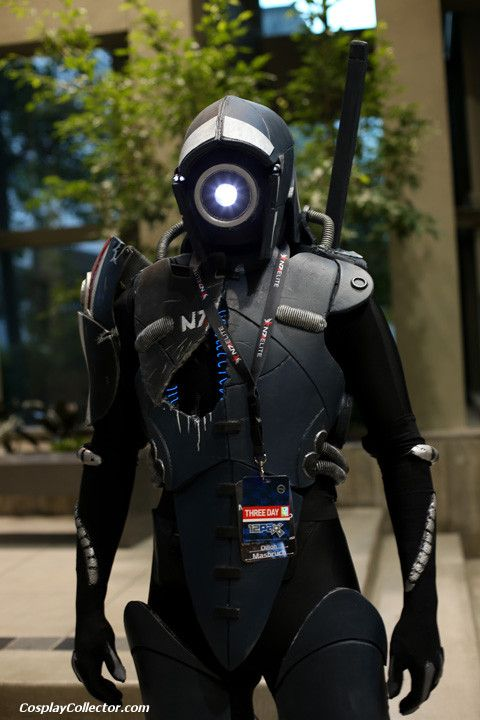 Legion, Mass Effect series  Say what you will, but cosplay has come a long way!