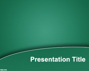 Free green performance powerpoint template with curved effect and free green performance powerpoint template with curved effect and gradient style toneelgroepblik Choice Image