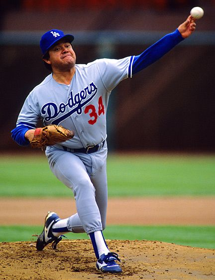 Fernando Valenzuela Fernando Is A Baseball Player And He Is Most Famous For Playing For The La Dodgers He Is A Left H Dodgers Dodgers Nation Dodgers Baseball